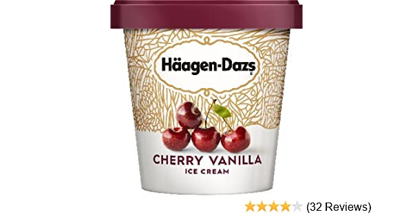 Häagen-Dazs Cherry Vanilla Ice Cream, 14 oz.