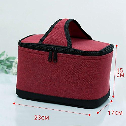 YXX- Tela de Oxford bolsa de asas con hielo fresco y grande Capacidad de almuerzo caja de refrigerador Picnic mochilas...