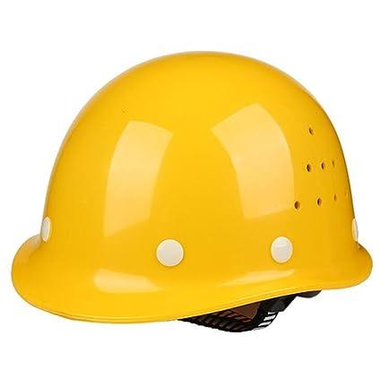 STEAM PANDA Casco De Seguridad Casco De FRP De Alta Resistencia Sitio De Construcción Ingeniería De