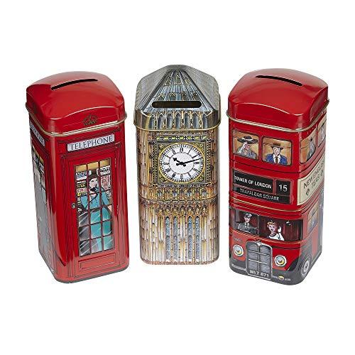 (New English Teas - Traditional English Teas Money Box Gift Pack)
