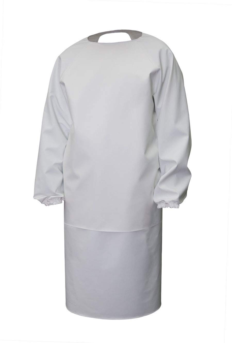 3Kamido® Delantal profesional, delantal de PVC con mangas, delantal de carnicero, delantal para veterinarios, delantal de lavado, impermeable, delantal veterinario, delantal lácteo