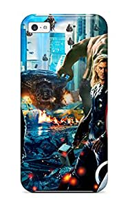 Awesome Case Cover/iphone 5c Defender Case Cover(the Avengers 54)