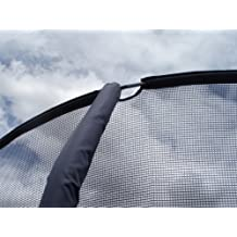 14' G4 Enclosure Trampoline Netting Using 4 Poles