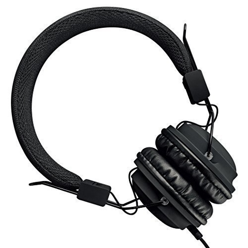 Sound Intone HD850 On-Ear Adjustable Folding Headphones with Microphone and Remote Control, Black by Sound Intone