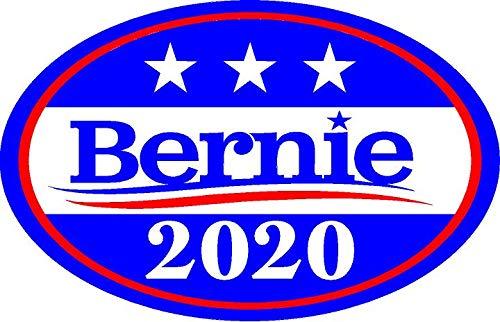 Magnetic Bumper Sticker Car Magnet Bernie Sanders President 2020