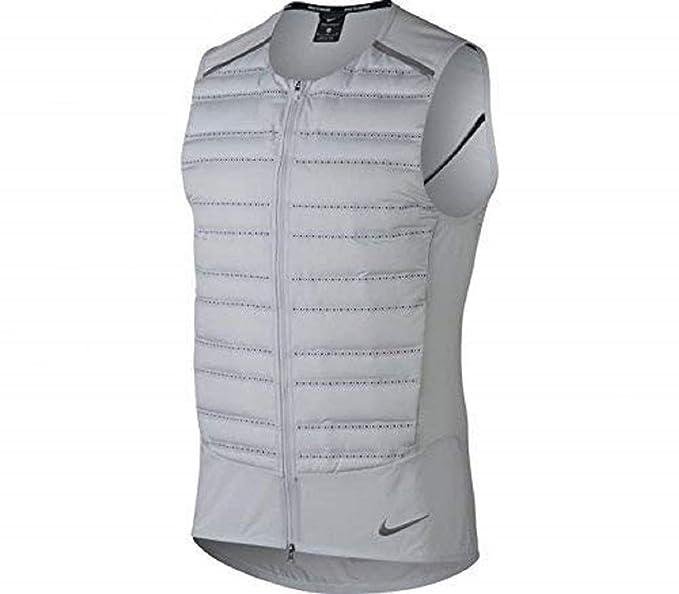 Amazon.com: Nike Aeroloft chaleco de running para hombre ...