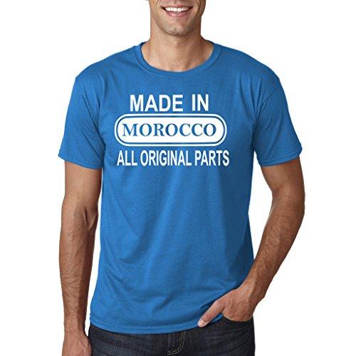Daataadirect - Camiseta - para hombre azul zafiro