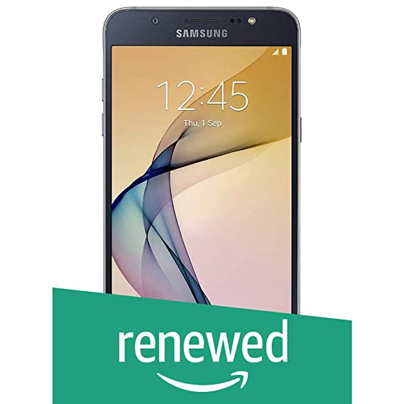(Renewed) Samsung Galaxy On8 SM-J710FN (Black, 16GB)
