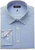 Nautica Mens Classic Fit Performance Check Spread Collar Shirt