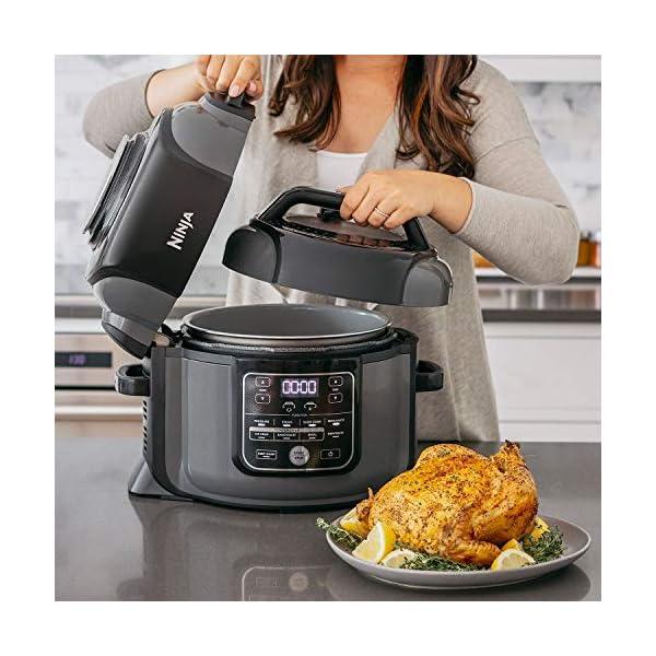Ninja Foodi OP305 6.5 Quart TenderCrisp Pressure Cooker - Black/Gray 1