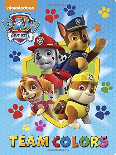 Team Colors (Paw Patrol) (Board Book) (Team Colours)