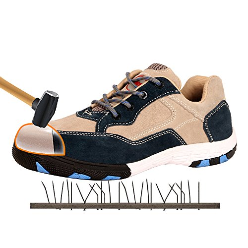 durable puncture Zx12 Kevlar plastic shoe work hiking shoes toe steel outdoor proof shoes safety leather soles aZx4Ya
