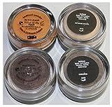 bareMinerals Set of 4 Mini Neutral Eyecolors -Brilliant/Smoke/Cream Soda/Nurture