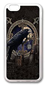 iPhone 6 Cases, Crow And Talisman Custom Design TPU Case Cover for Apple iPhone 6 with 4.7 inch Screen TPU Transparent