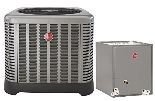 "2 Ton Rheem 14 SEER R410A Air Conditioner Condenser with 14"""