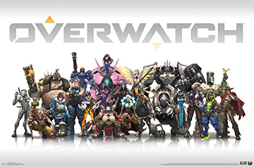 "Trends International Overwatch Group Wall Poster, 22.375"" x"