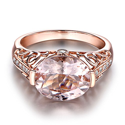 (Fashion Rings,Gemstone Ring Gemstone Ring Rose Gold Ring,Crystal Rings,Women's Wedding Bands,)