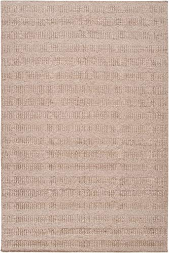 Surya Bahama BAH-4103 Transitional Hand Loomed 100% Wool Parchment 8' x 10' Area Rug