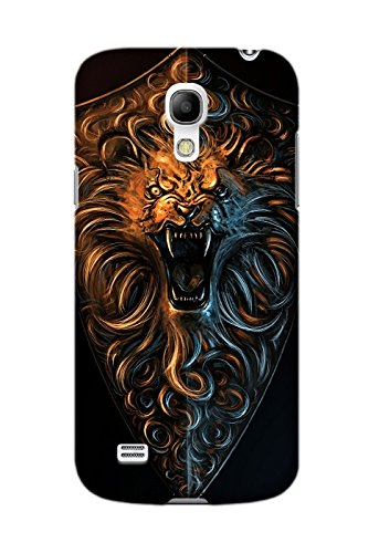 Personalized Protective Hard Textured Game Dark Souls II Cell Phone Case Cover Compatible with Samsung Galaxy S4 Mini Design By Jennifer Allen ()