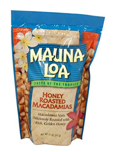 Mauna Loa Macadamias, Honey Roasted, 11-Ounce Package (Macadamia M And M)