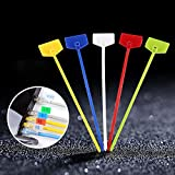 """100pcs 6"""" Self Locking Nylon Cable Ties,Cable"""