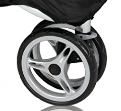 Replacement front wheel for Baby Jogger City Mini Stroller. Not compatible with City Micro, GT strollers or City Mini 4 Wheel Stroller. Compatible with City Mini 3 wheel single stroller and City Mini double. Not compatible with GT double. Aut...