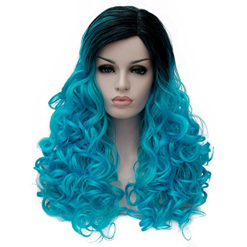 Color Wigs for Women Lolita wig Synthetic Women's - Black Realistic Wigs