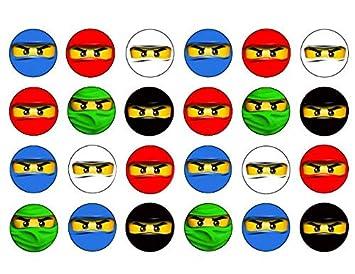 Lego Ninjago Blue Ninja Red Ninja White Ninja Black Ninja ...
