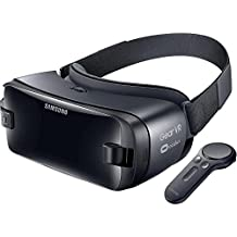 Samsung Gear VR (2017 Edition) with Controller Virtual Reality Headset SM-R324 for Galaxy S8, S8+, S7, S7 edge, Note5, S6 edge+, S6, S6 edge (International Version, No Warranty)