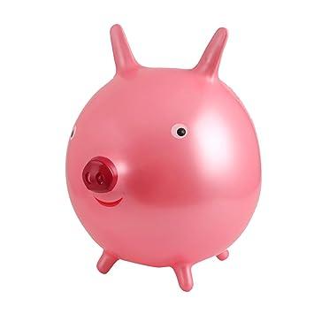 Toyvian Salto Inflable Salto al Aire Libre Paseo en el Cerdo ...
