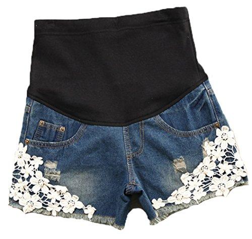Woman Maternity Denim Shorts - 7