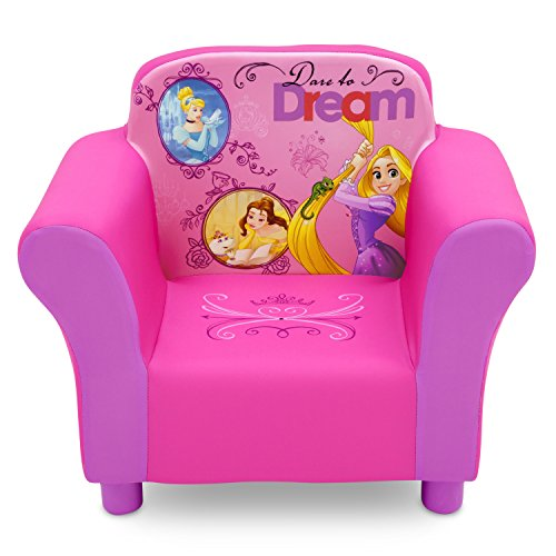 Delta Children Disney Princess Upholstered Chair (Chair Pink Princess)