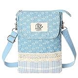 cell phone purse(Light Blue)