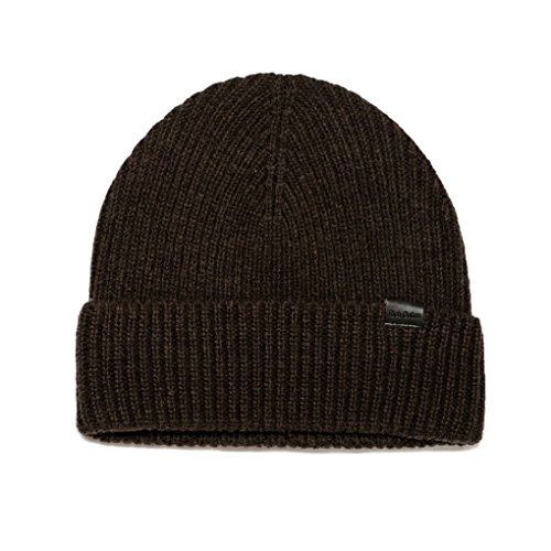 (Rich Cotton Beanie (Brown))