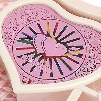 Symboat Musique bijoux bo/îte en forme de coeur Ballerine dansant cadeau pour les filles Saint-Valentin