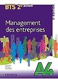 Les Nouveaux A4 Management des entreprises 2e année BTS 4e édition by Michel Scaramuzza (2014-04-30)
