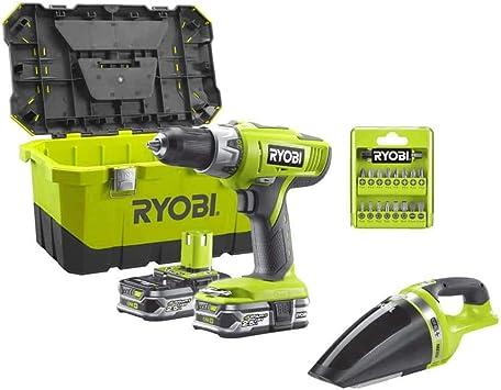 Ryobi 18V OnePlus Percussion Drill Pack LLCDI18-225 - Ryobi ...