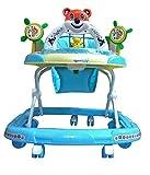 KGC Baby Walker For Kids Blue Musical