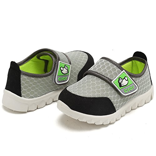 CIOR Kid's Mesh Lightweight Sneakers Baby Breathable Slip-On For Boy and Girl's Running Beach Shoes(Toddler/Little Kid) 27