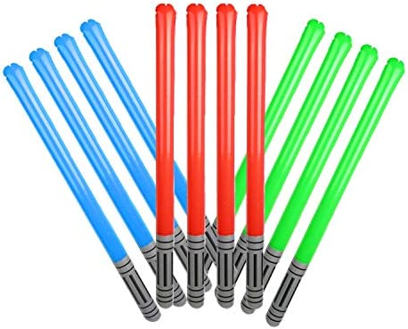 90 cm Inflatable Assorted Light saber Light Stick Galaxy Star Wars Blow up Light