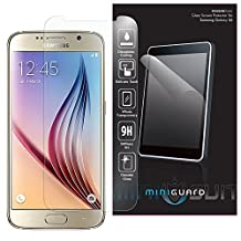 MiniGuard Tempered Glass Screen Protector for Samsung Galaxy S6