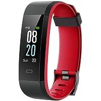 Willful Smartwatch Fitness Tracker Watch Orologio Cardiofrequenzimetro da Polso Donna Uomo Bambini Impermeabile IP68 Schermo a Colori Pedometro per iPhone Samsung Xiaomi Huawei Android iOS Smartphone