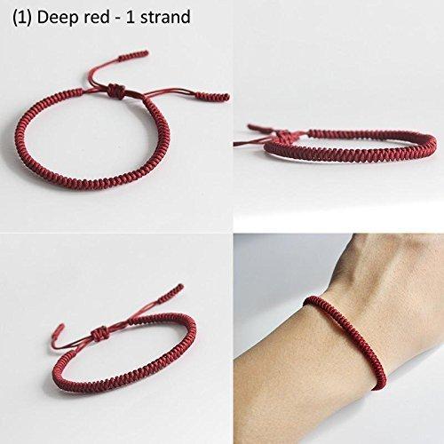 TALE Lucky Rope Bracelet Tibetan Buddhist Handmade Knots