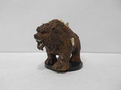 Amazoncom D D Minis Dire Bear 26 Deathknell Toys Games