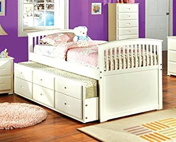 full size bed w twin trundle