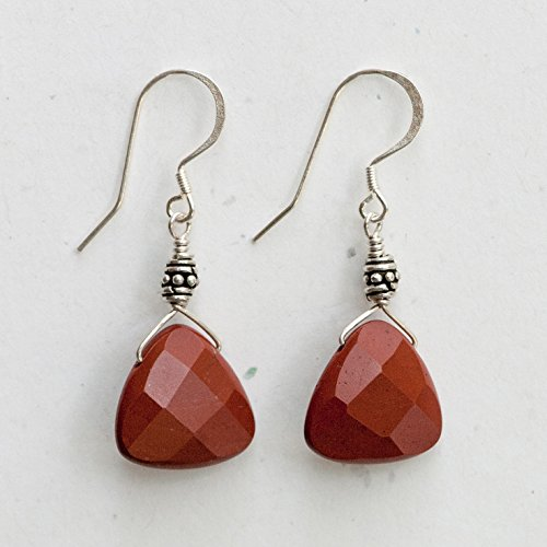 Red Jasper Earrings -