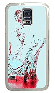 Samsung Galaxy S5 Heart Splash PC Custom Samsung Galaxy S5 Case Cover Transparent