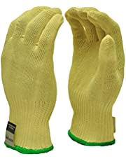 G & F 1678M Cut Resistant Work Gloves, 100-Percent Kevlar Knit Work Gloves, Make by DuPont Kevlar, Protective Gloves to Secure Your hands from Scrapes, Cuts in Kitchen, Wood Carving, Carpentry and Dealing with Broken Glass, 1 Pair,Medium