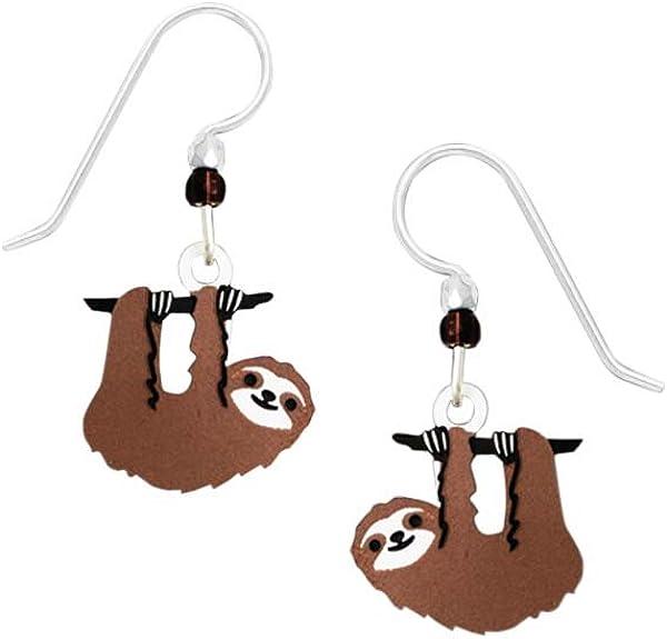Sienna Sky Hanging Sloth Earrings 1938