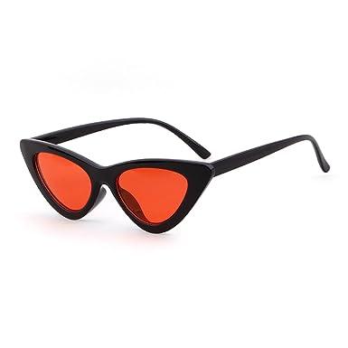 334ecd63652 ADEWU Small Cat Eye Sunglasses Red Frame Women Brand Designer Ladies Sun  glasses Vintage Sexy Eyewear